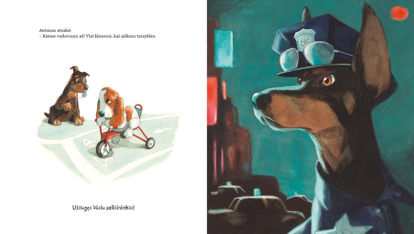Knyga vaikams Kai aš užaugsiu