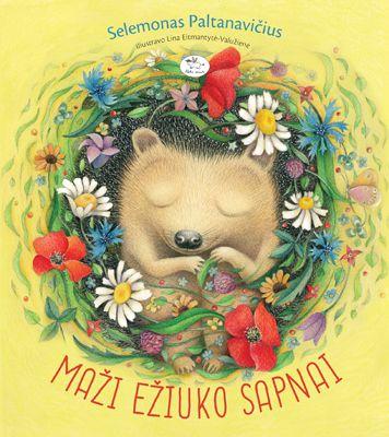 Knyga vaikams - Maži ežiuko sapnai