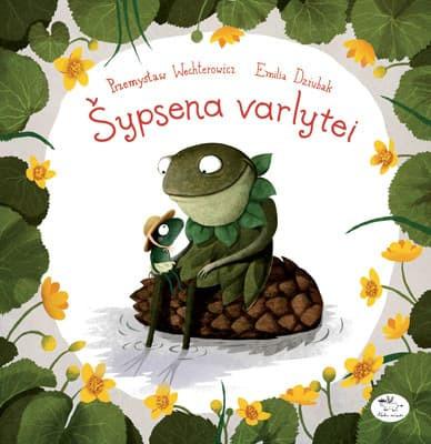 Knyga vaikams sypsena varlytei
