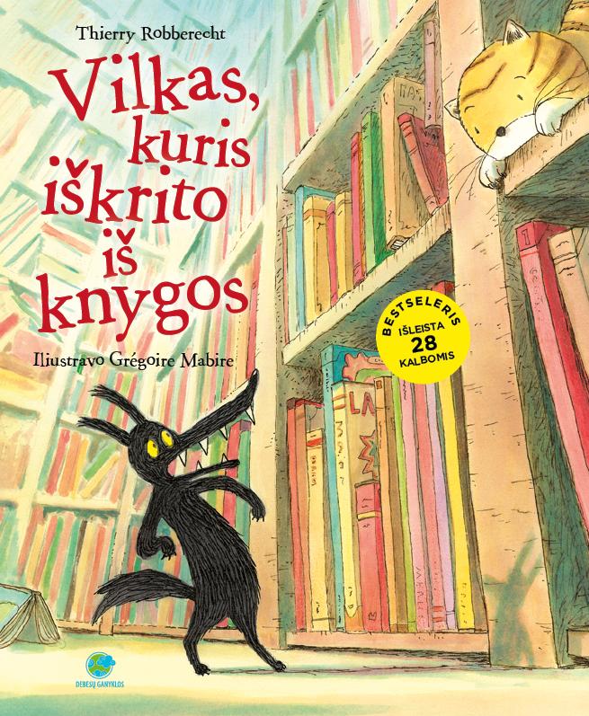 vilkas, kuris iskrito is knygos